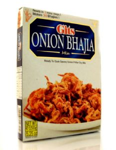 Onion Bhaji Mix by Gits | Buy Online at the Asian Cookshop
